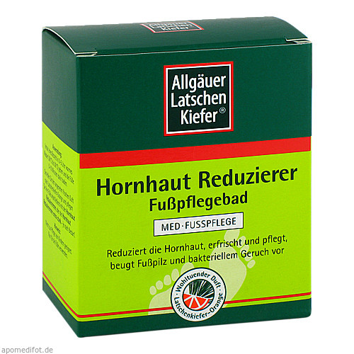 Allgäuer Latschenk.Hornhaut Reduzierer Fußpflege, 10X10 G, Dr. Theiss Naturwaren GmbH
