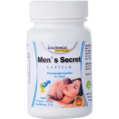 Nutrimexx - Mens Secret, 30 ST, HCP GmbH