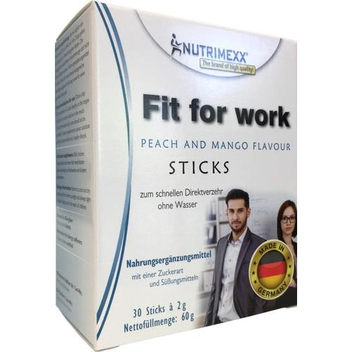 Nutrimexx - Fit for work, 30 ST, HCP GmbH