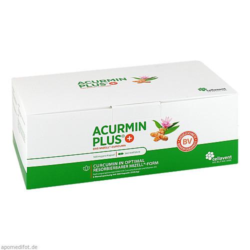 ACURMINPlus - Das Mizell-Curcuma. Weichkapseln, 360 ST, Cellavent Healthcare GmbH
