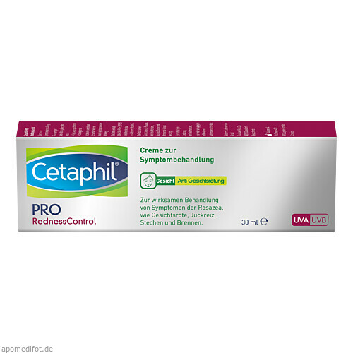 Cetaphil Redness Control Creme z Symptombehandlung, 30 ML, Galderma Laboratorium GmbH