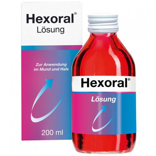 Hexoral 0.1 % Lösung, 200 ML, Johnson & Johnson GmbH (Otc)