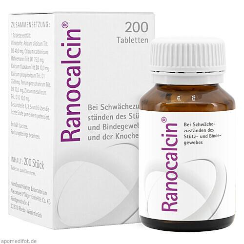 Ranocalcin, 2X100 ST, Homöopathisches Laboratorium Alexander Pflüger GmbH & Co. KG