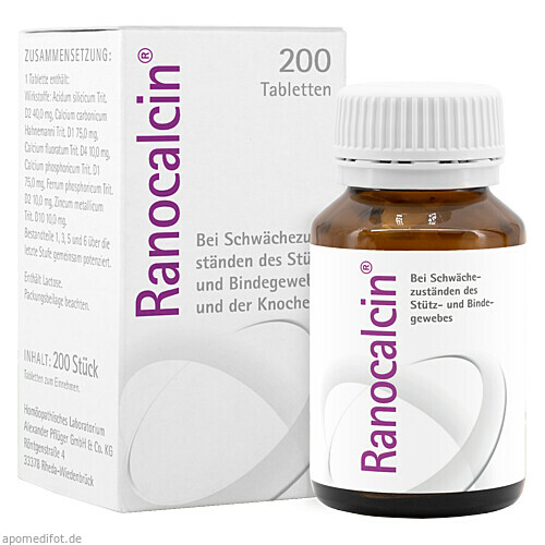 Ranocalcin, 2X100 ST, A.Pflüger GmbH & Co. KG