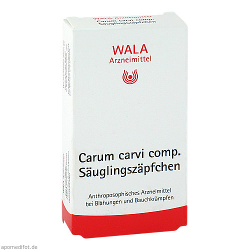 Carum carvi comp. Säuglingszäpfchen, 10X1 G, Wala Heilmittel GmbH
