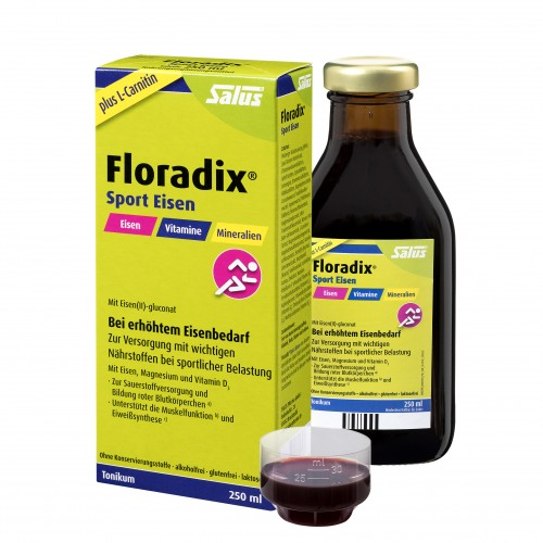 Floradix Sport Eisen, 250 ML, Salus Pharma GmbH
