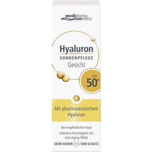 Hyaluron Sonnenpflege Gesicht LSF 50+, 50 ML, Dr. Theiss Naturwaren GmbH
