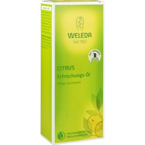 WELEDA CITRUS Erfrischungs-Öl, 100 ML, Weleda AG
