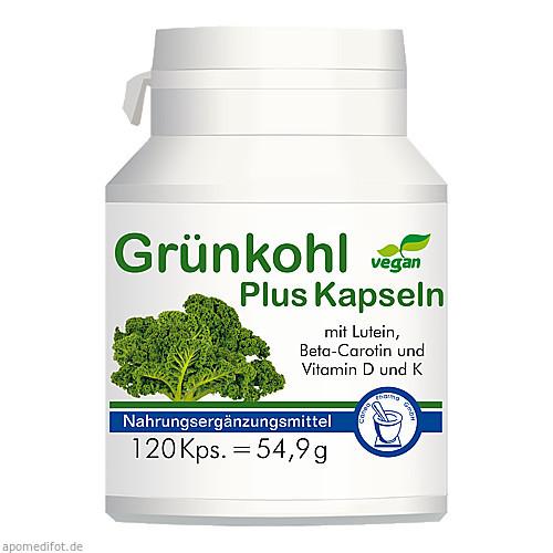 Grünkohl Plus Kapseln, 120 ST, Pharma-Peter GmbH