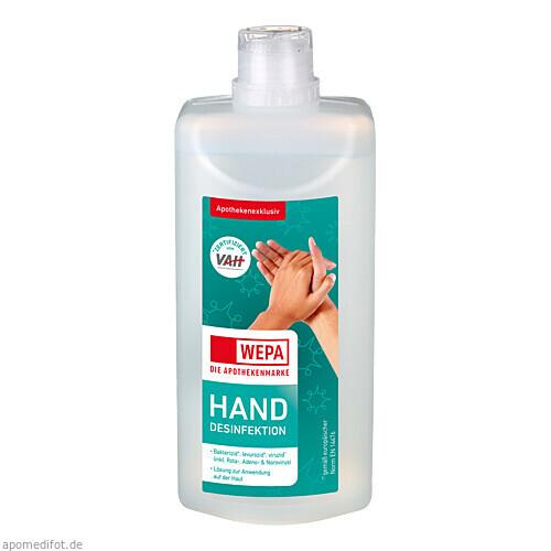 WEPA Handdesinfektion 500 ml, 500 ML, WEPA Apothekenbedarf GmbH & Co KG