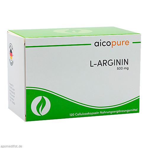 L-ARGININ 500 mg Kapseln, 120 ST, Aicomed GmbH