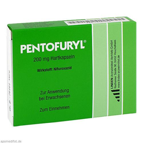Pentofuryl 200 mg Hartkapseln, 12 ST, Linden Arzneimittel-Vertrieb-Gmbh