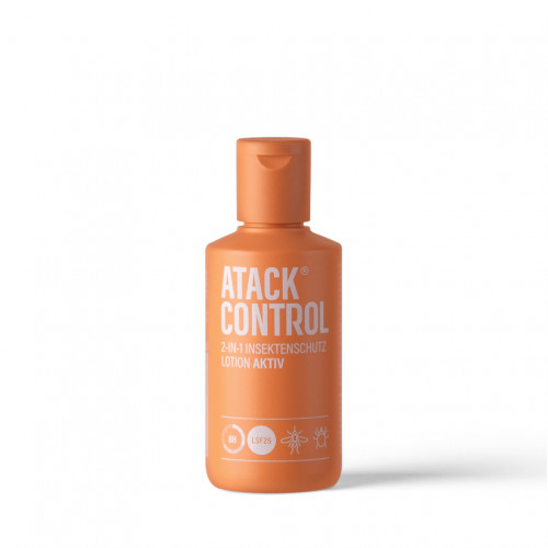 Atack Control Insektenschutz Lotion AKTIV + LSF 25, 100 ML, Imp GmbH International Medical Products