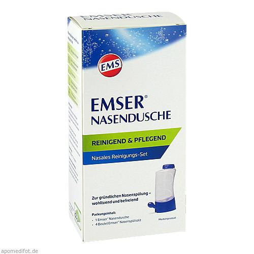 EMSER Nasendusche mit 4 Btl. Nasenspülsalz, 1 ST, Siemens & Co