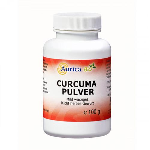 Curcuma Pulver Bio, 100 G, Aurica Naturheilm.U.Naturwaren GmbH