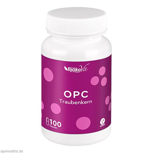 OPC Traubenkern vegan Kapseln, 100 ST, BjökoVit