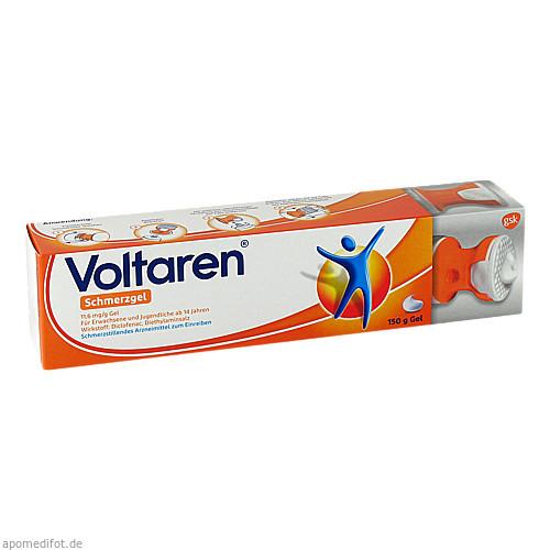 Voltaren Schmerzgel 1.16% Gel Komf-Applikator, 150 G, GlaxoSmithKline Consumer Healthcare