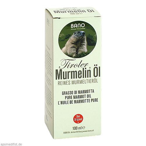 TIROLER MURMELIN ÖL 100% reines Murmeltieröl, 100 ML, Bano Healthcare GmbH