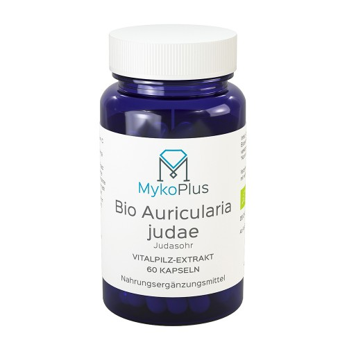 MykoPlus Bio Auricularia Vitalpilz-Extrakt, 60 ST, MykoGroup UG (haftungsbeschränkt)