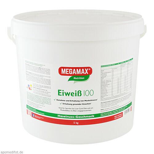 Eiweiss 100 Haselnuss Megamax, 5 KG, Megamax B.V.