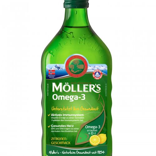 Möllers Omega-3 Zitronengeschmack, 250 ML, doletra GmbH