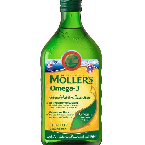 MÖLLERS Omega-3 neutraler Geschmack, 250 ML, doletra GmbH