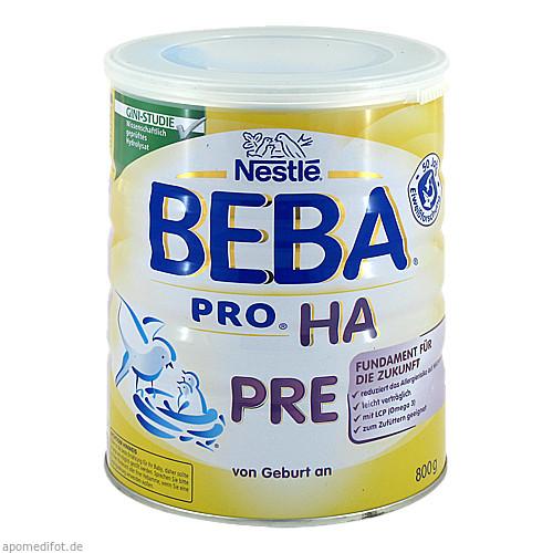 Nestle BEBA PRO HA Pre, 800 G, Nestle Nutrition GmbH
