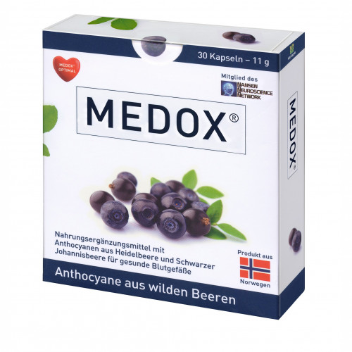 MEDOX - Anthocyane aus wilden Beeren, 30 ST, Evonik Nutrition & Care GmbH
