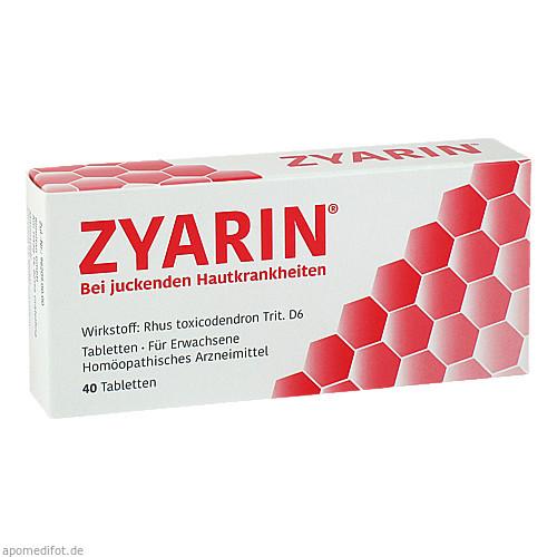 Zyarin, 40 ST, PharmaSGP GmbH