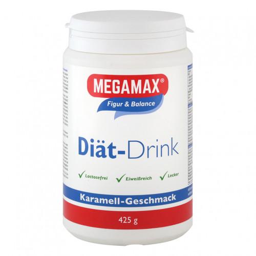 MEGAMAX DIAET DRINK Karamell, 425 G, Megamax B.V.
