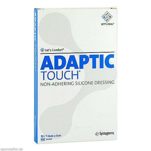 ADAPTIC Touch 5x7.6 cm nichthaft.Sil.Wundauflage, 10 ST, B2b Medical GmbH