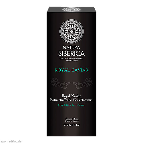 Natura Siberica Royal Kaviar Extra Straff Gesicht, 50 ML, Habitum Pharma