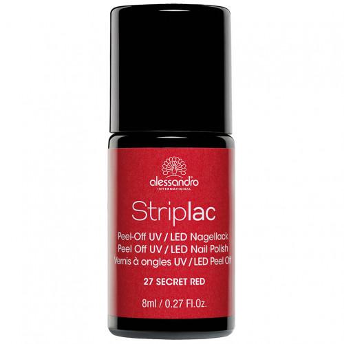alessandro STRIPLAC 127 Secret Red, 8 ML, Hager Pharma GmbH