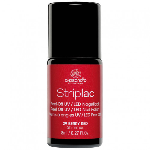 alessandro STRIPLAC 129 Berry Red, 8 ML, Hager Pharma GmbH