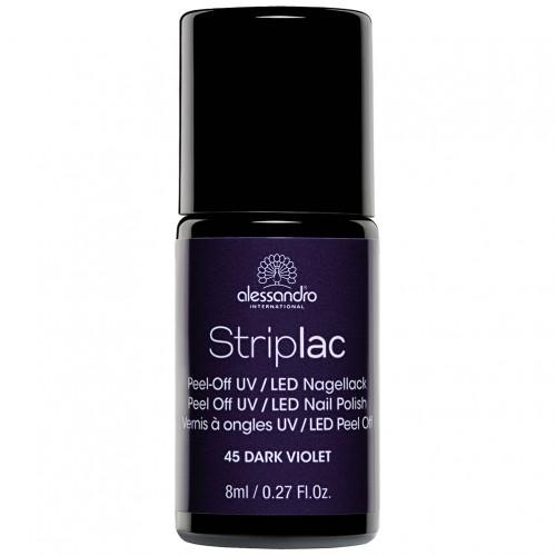 alessandro STRIPLAC 145 Dark Violet, 8 ML, Hager Pharma GmbH
