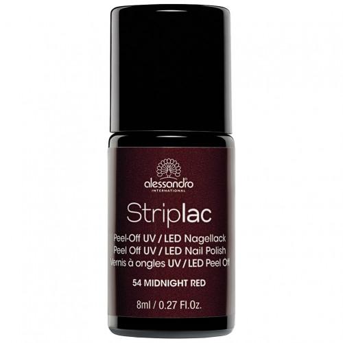 alessandro STRIPLAC 154 Midnight Red, 8 ML, Hager Pharma GmbH