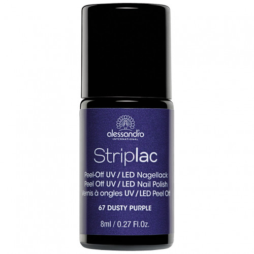 alessandro STRIPLAC 167 Dusty Purple, 8 ML, alessandro International GmbH