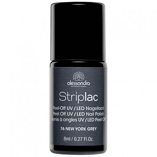 alessandro STRIPLAC 176 New York Grey, 8 ML, Hager Pharma GmbH