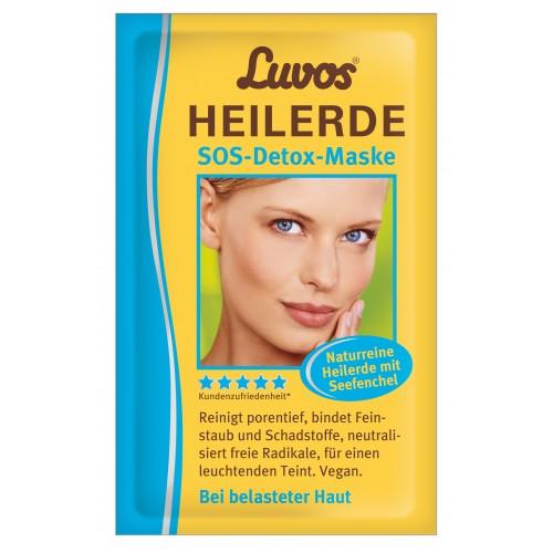 LUVOS Heilerde SOS-Detox-Maske, 2X7.5 ML, Heilerde-Gesellsch.LUVOS JUST GmbH&Co.KG