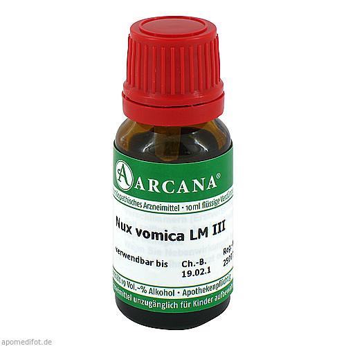 Nux vomica LM 3, 10 ML, Arcana Arzneimittel-Herstellung Dr. Sewerin GmbH & Co. KG