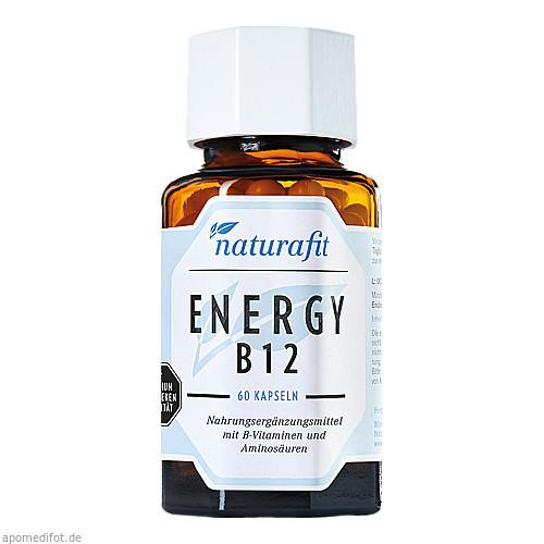 Naturafit Energy B12, 60 ST, Naturafit GmbH