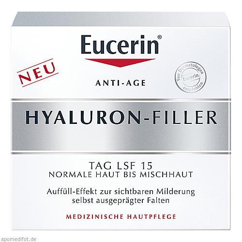 EUCERIN Anti-Age HYALURON-FILLER Tag nor+Mischhaut, 50 ML, Beiersdorf AG Eucerin