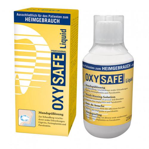 OXYSAFE Liquid Prof.Mundspülung Zahnarzt Version, 250 ML, Hager Pharma GmbH