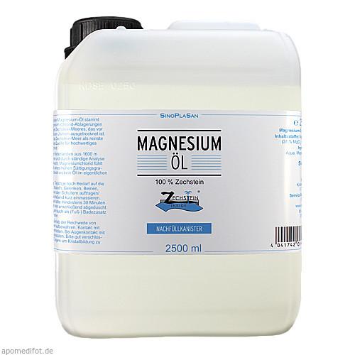 Magnesium-Öl 100% Zechstein, 2500 ML, Sinoplasan AG