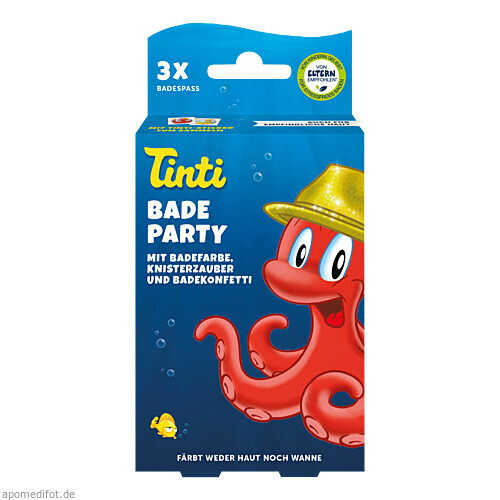 Tinti Badeparty 3er Pack DS, 1 P, WEPA Apothekenbedarf GmbH & Co KG