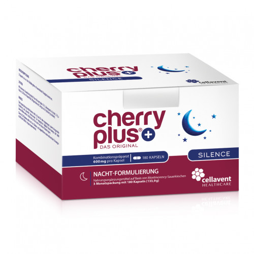 Cherry PLUS - Das Original Silence Kapseln, 180 ST, Cellavent Healthcare GmbH