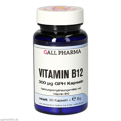 VITAMIN B12 300 ug GPH Kapseln, 30 ST, Hecht-Pharma GmbH
