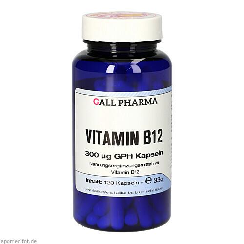 VITAMIN B12 300 ug GPH Kapseln, 120 ST, Hecht-Pharma GmbH