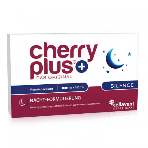 Cherry PLUS - Das Original Silence Kapseln, 60 ST, Cellavent Healthcare GmbH