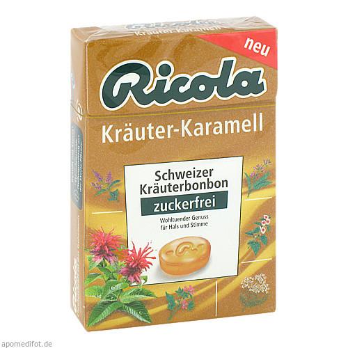 Ricola oZ Box Kräuter Karamell, 50 G, Queisser Pharma GmbH & Co. KG
